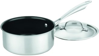 Cuisinart GGT19-18 GreenGourmet Tri-Ply 2 Quart Saucepan w/ Cover, Stainless