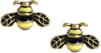 Cath Kidston Bumble Bee Enamel Earrings