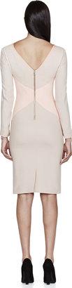 Roksanda Beige & Pink Datum Dress