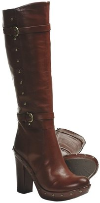 Kork-Ease Bailey High-Heel Boots - Leather, Rivet Detail (For Women)