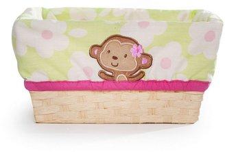 Carter's jungle jill lined basket
