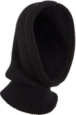 Barneys New York Ribbed Knit Hood