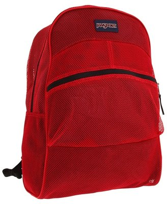 JanSport Mesh Pack (Collegiate Scarlet) - Bags and Luggage