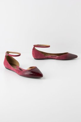 Anthropologie Glossed D'Orsay Skimmers