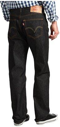 Levi's(r) Mens 501(r) Original Shrink-to-Fit Jeans (Black Shrink to Fit) Men's Jeans