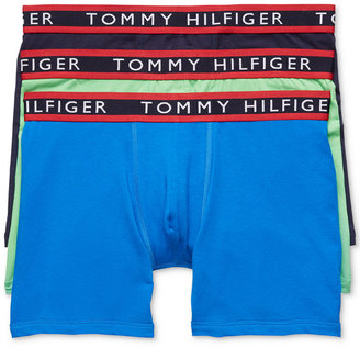 Tommy Hilfiger Men's Stretch Boxer Briefs 3-Pack $42.50 thestylecure.com