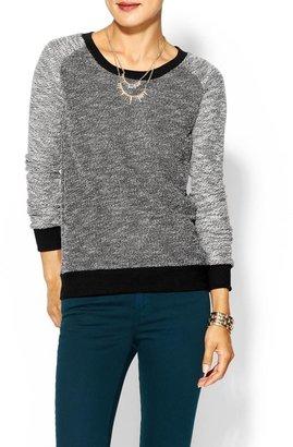 Splendid Boucle Active Sweatshirt