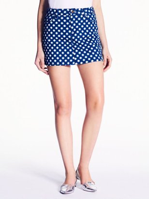 Kate Spade Gingham broome street mini skirt
