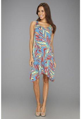 Tommy Bahama Maringa Palms Dress (Hazy Teal) - Apparel