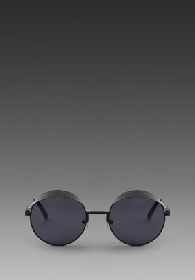 House of Holland for Le Specs Hoodies Sunglass in Bl