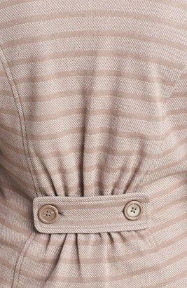 Caslon Cotton Knit Blazer (Regular & Petite) Large