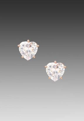 Juicy Couture Heart Studs