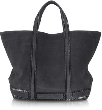 Vanessa Bruno Large Suede and Patent Leather Tote