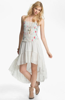 Free People 'Miss Lizzy' Floral Corset Camisole