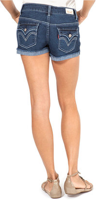 Levi's Shorts, Taryn Dark Wash Denim