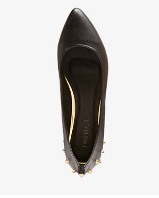 Forever 21 Edgy Spiked Flats