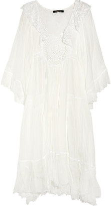 Sestra Moja Angel cotton-cheesecloth dress