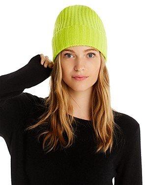 Aqua Cashmere Rib-Knit Cashmere Beanie - 100% Exclusive