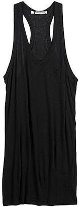 Alexander Wang Mini Pocket Tank Dress