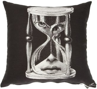 Fornasetti 'Tempo' cushion
