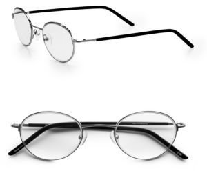 Saks Fifth Avenue Collection Vintage Round Readers