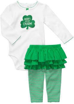 Carter's St. Patrick's Day 2-Piece Bodysuit Leggings Set
