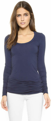 Splendid Layers Long Sleeve Tee $54 thestylecure.com