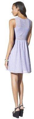 Xhilaration Lace Fit & Flare Dress