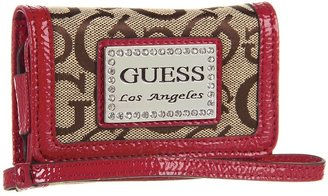 GUESS Taluca iPhone Case (Brown) - Bags and Luggage