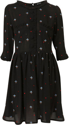 Floral Embroidered Teadress