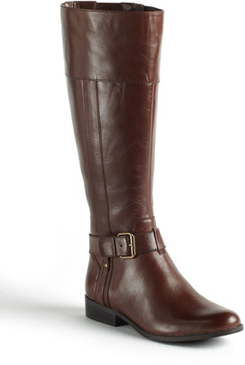 Anne Klein Costaro Leather Riding Boots