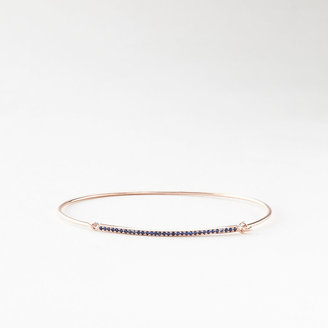 Steven Alan GRACE LEE sapphire bar cuff bracelet