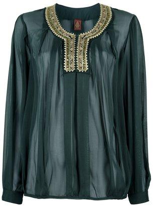 Dondup sheer blouse