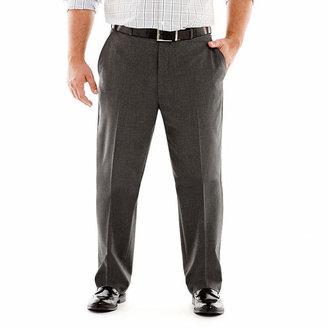 Jf J.Ferrar JF Stretch Gabardine Suit Pants-Big & Tall