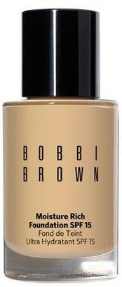 Bobbi Brown Moisture Rich Foundation Spf 15 - #06 Golden