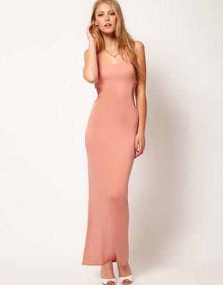 Love Jersey Cut Out Maxi Dress