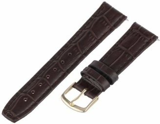 Hadley Roma Hadley-Roma Women's 18mm Leather Watch Strap
