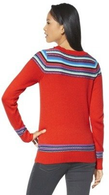 Mossimo Juniors Fairisle Pullover Sweater - Assorted Colors