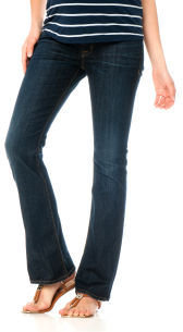 A Pea in the Pod Hudson Petite Secret Fit Belly® 5 Pocket Boot Cut Maternity Jeans