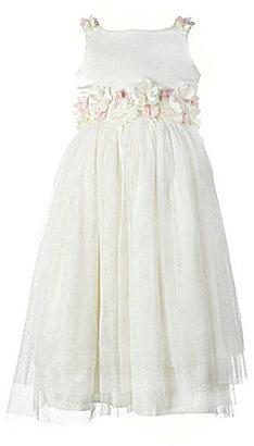 Jayne Copeland 2T-6X Satin Tulle Dress