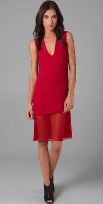 Thakoon V Neck Sheath Dress