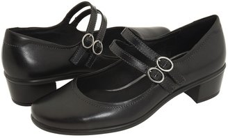Ecco Pearl Mary Jane (Black Leather) - Footwear