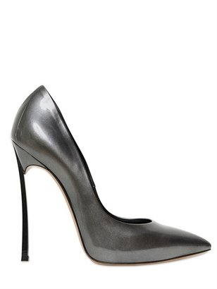 Casadei 110mm Glossy Patent Pointed Pumps