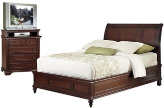 Home styles Lafayette 2-pc. Queen Headboard & 5-Drawer Media Chest