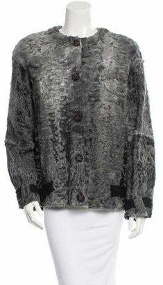 Marc Jacobs Astrakhan Coat