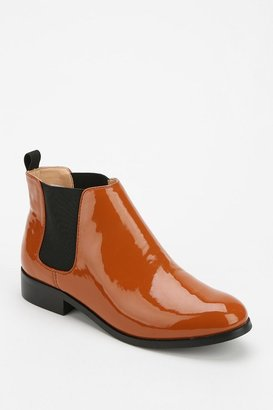 Marais Usa Beatle Patent Leather Ankle Boot