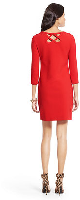 Diane von Furstenberg Carmen Cutout Ceramic Dress