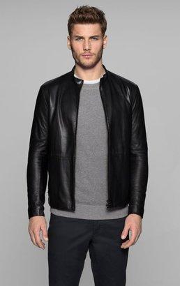 Arvid L Jacket in Morbier Leather
