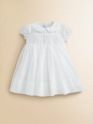 Baby CZ Infant's Floral Smocked Dress & Bloomer Set