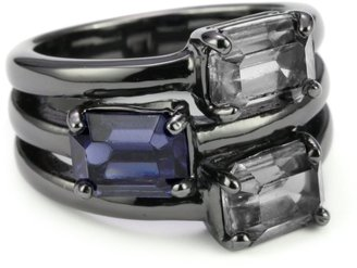 """Kenneth Cole New York """"Modern Gallery"""" Stackable Ring, Size 7.5"""